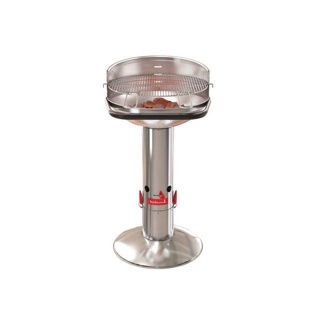 BARBECOOK -Barbecue charbon de bois inox Quickstart® 10 pers 47,5cm H99cm LOEWY 50 SST BARBECOOK  - BARBECOOK