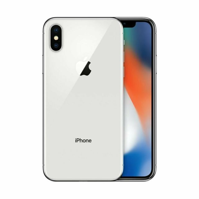 Apple - iPhone X - 256 Go - Argent - iPhone 256 go