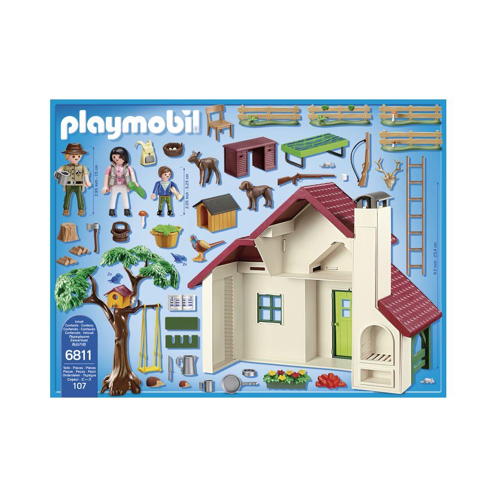 Playmobil Maison Forestiere 6811 Playmobil Rue Du Commerce