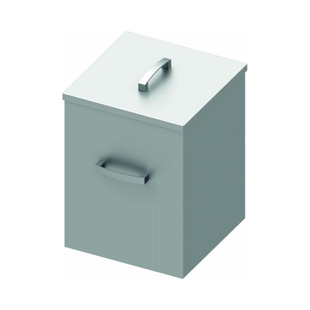 Materiel Chr Pro Poubelle Inox Carrée - 72 Litres - Stalgast -