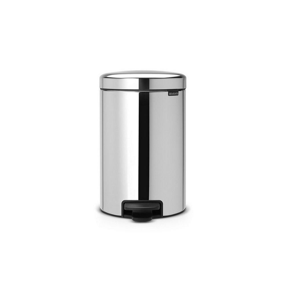 BRABANTIA brabantia - poubelle à pédale 30l brillant steel - 113888
