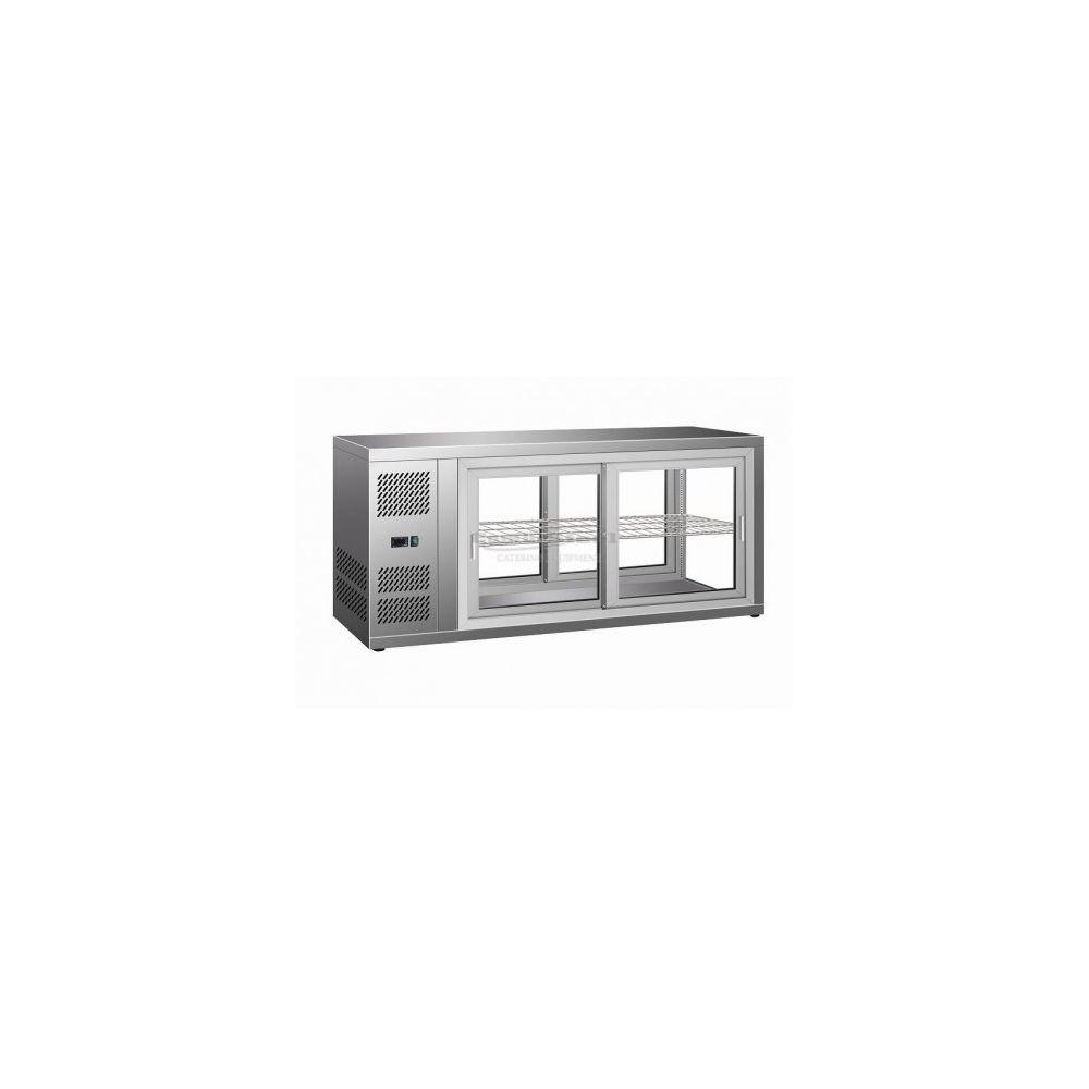 Combisteel Vitrine Réfrigérée à Poser de Pâtisserie 150 L - Combisteel -