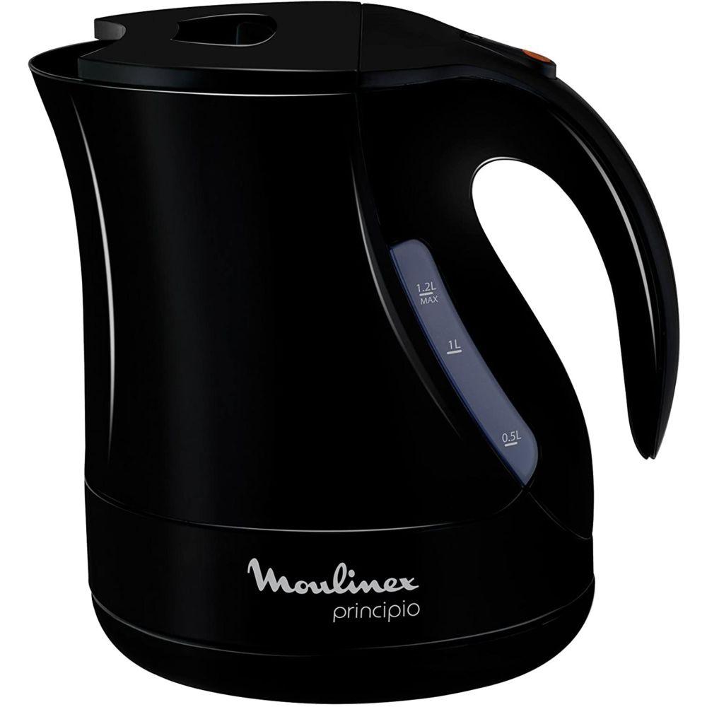 Moulinex bouilloire électrique de 1,2L sans fil avec base 360° 2400W noir