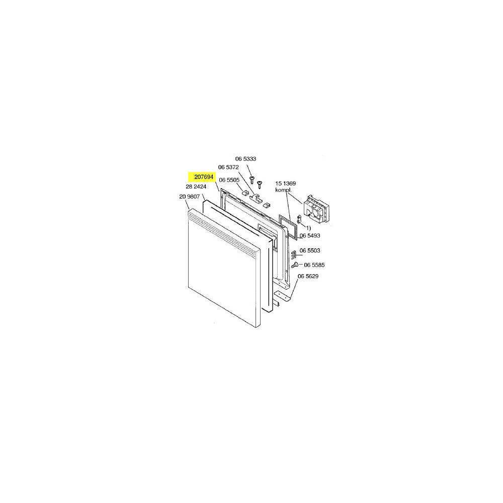 Bosch Contre Porte Inox reference : 00207694