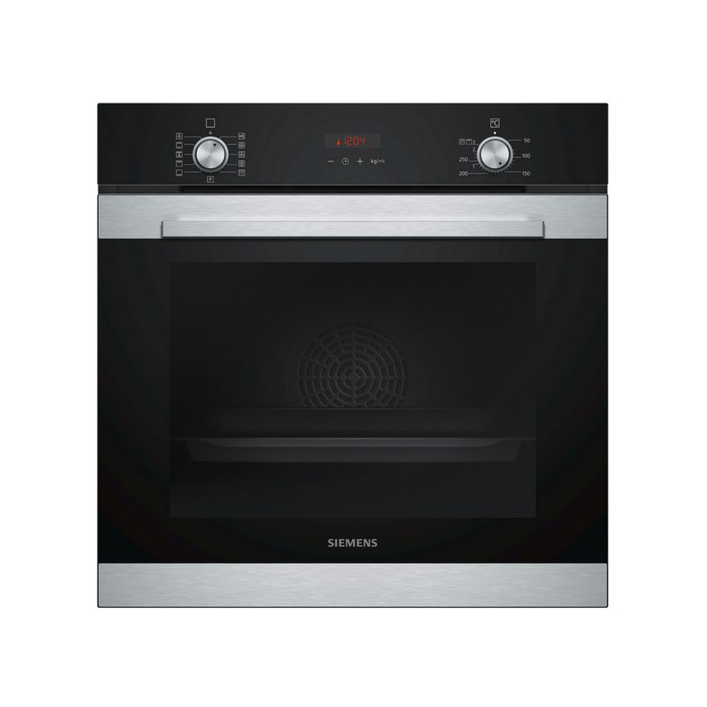 Siemens siemens - four intégrable multifonction 71l 60cm a pyrolyse inox - hb374abs0j