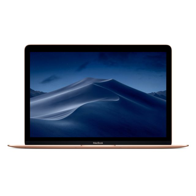 Apple -MacBook 12 - 256 Go - MRQN2FN/A - Or Apple  - Macbook reconditionné