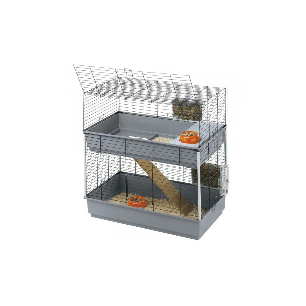 Ferplast Cage Ferplast Rabbit 100 double pour lapins