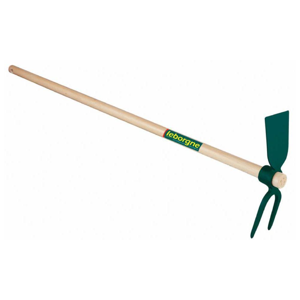 Leborgne LEBORGNE - Serfouette forgée - panne et fourche 35 cm