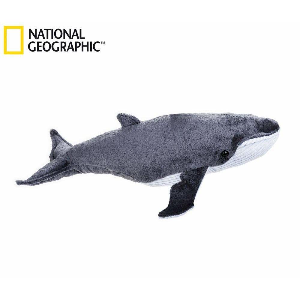 National Geographic National Geographic par Lelly 40 cm Ocean Whale Jouet en Peluche (Naturel)