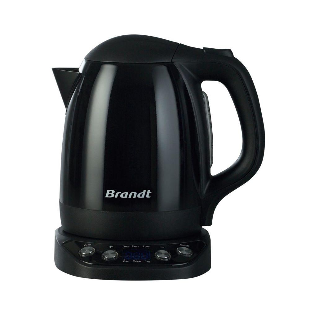 Brandt Bouilloire électrique à température réglable - BO1200EN - Noir