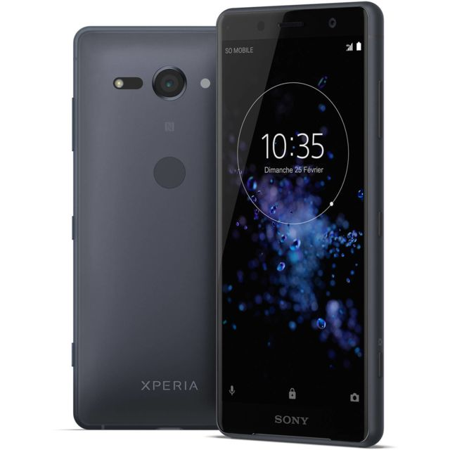 Sony - Xperia XZ2  Compact - Noir Sony   - Smartphone 5 pouces