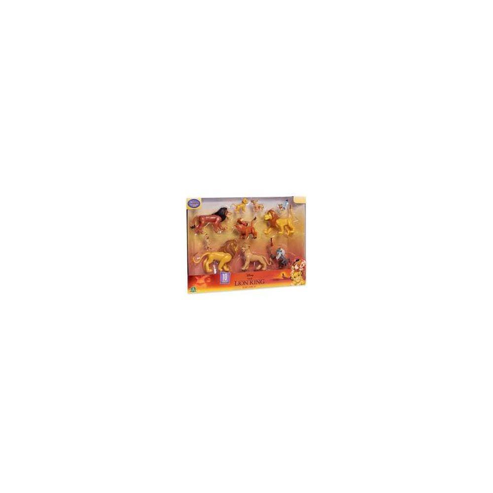 Giochi Preziosi Disney Le Roi Lion - Coffret 10 Figurines 8 cm et Accessoires