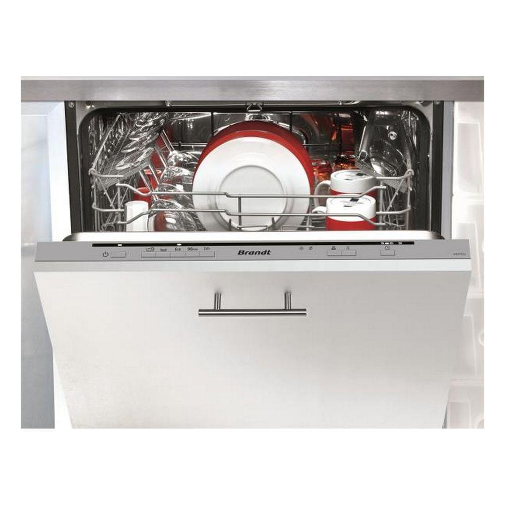 Brandt brandt - lave-vaisselle 60cm 12c 47db a++ tout intégrable - vh1772j