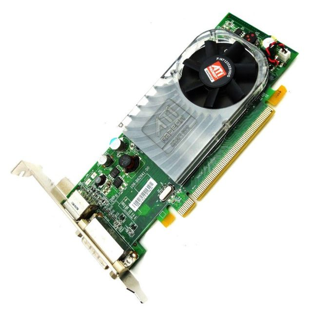 Amd - Carte Graphique Vidéo ATI Radeon HD3450 128Mo DDR2 SDRAM PCI-E DMS-59 S-Video - Carte Graphique AMD