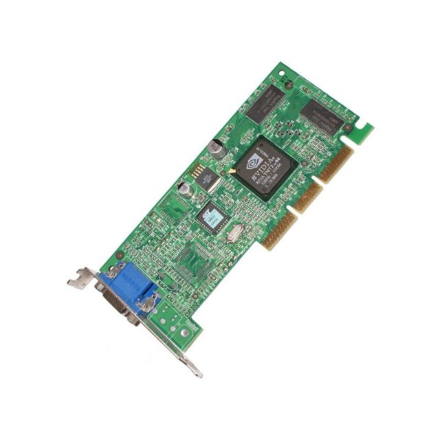 Msi -Carte VGA AGP MSI MS-8830 E-G012-01-1814 238955-002 239920-001 16Mo Low Profile Msi  - Occasions Carte Graphique
