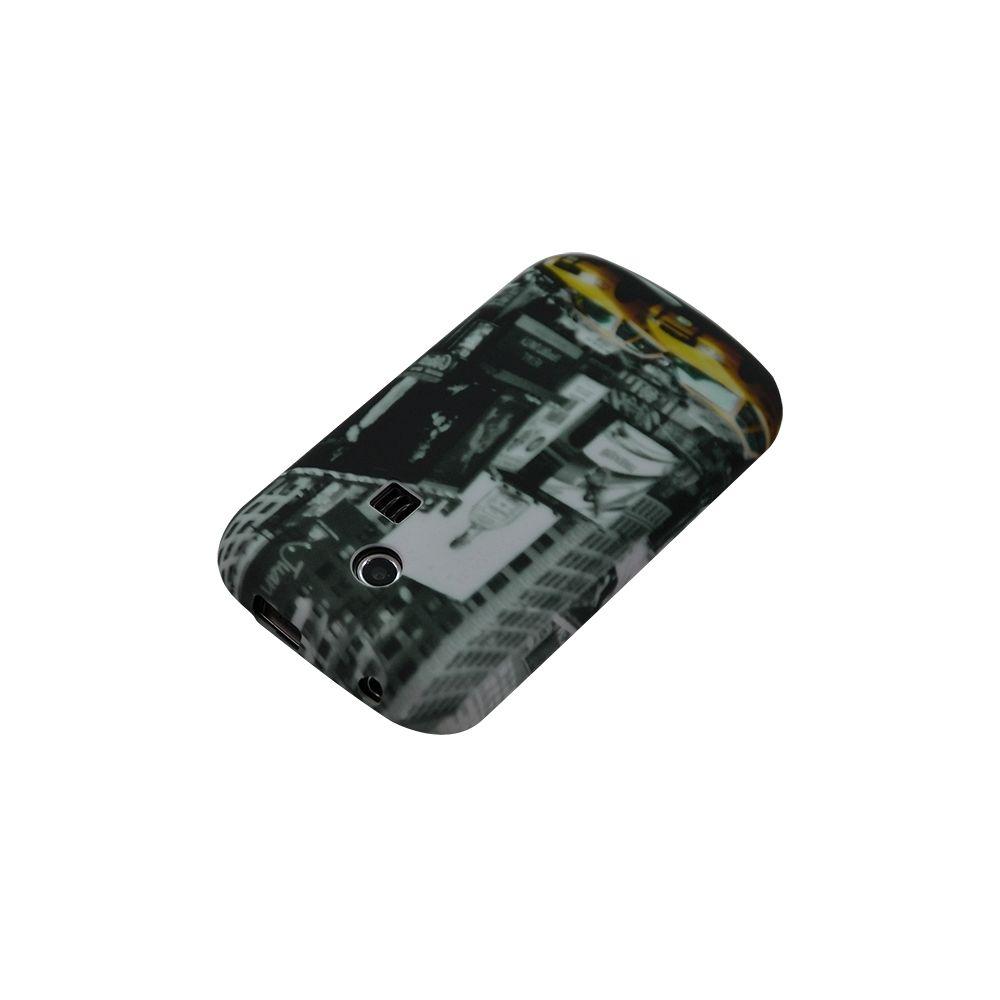 Karylax - Housse coque etui gel pour Samsung Chat 335 S3350 avec motif LM06