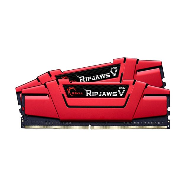 G.Skill - Ripjaws V - 2 x 4 Go - DDR4 2666 MHz CL15 - Rouge - RAM PC