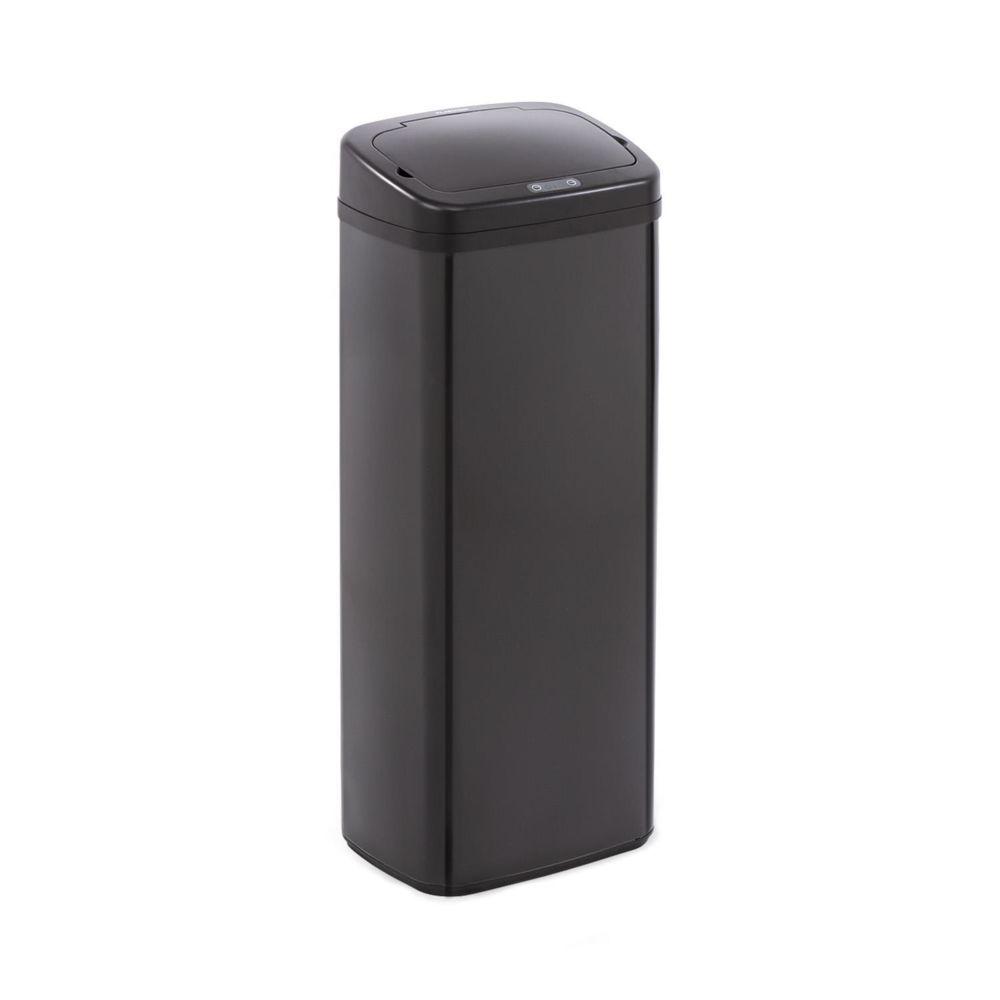 Klarstein Klarstein Cleanton 50 Poubelle avec capteur 50 litres - - Couvercle ABS noir