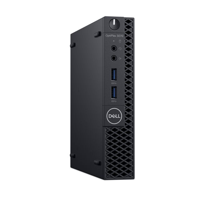 Dell - Optiplex 3070 MFF - Noir - PC Fixe