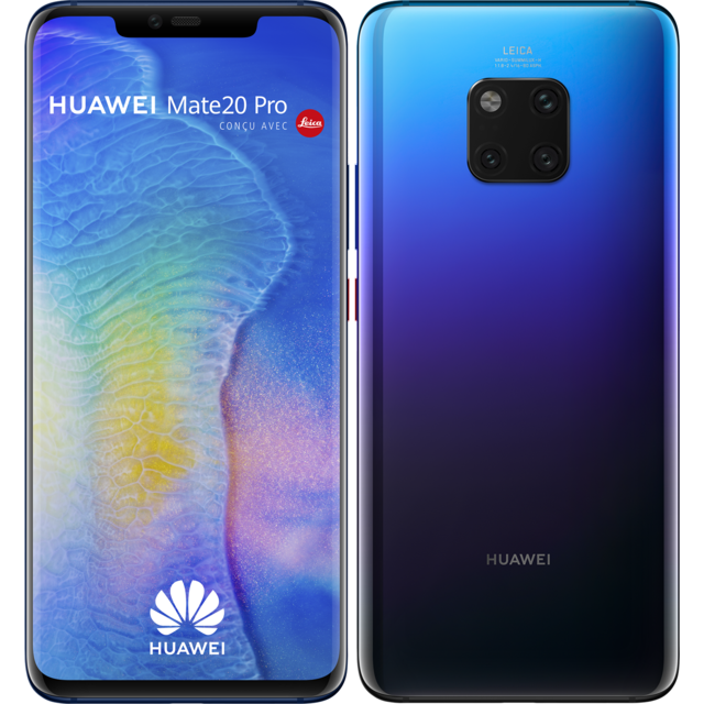 Huawei - Mate 20 Pro - 128 Go - Twilight - Smartphone Android 6.3 (16,0 cm)