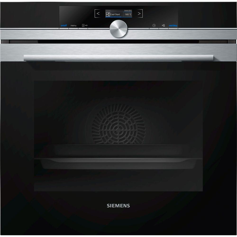 Siemens siemens - four intégrable 71l 60cm a+ inox/noir - hb672gbs2
