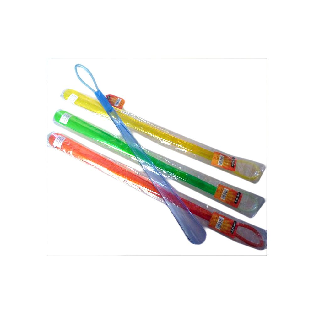 Coolminiprix Lot de 12 - Chausse-pied ABS XL 52cm coloris assortis - Qualité COOLMINIPRIX