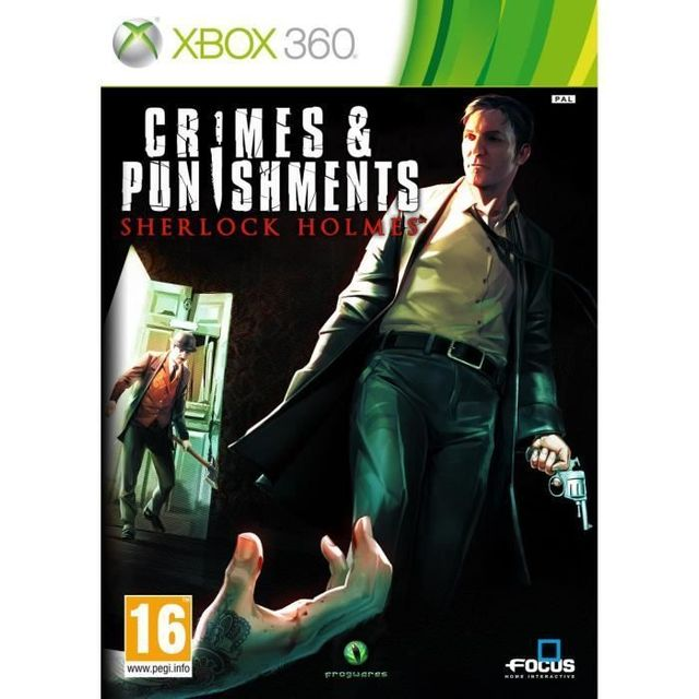 Focus - Sherlock Holmes Crimes & Punishments Jeu XBOX 360 - Jeux XBOX 360