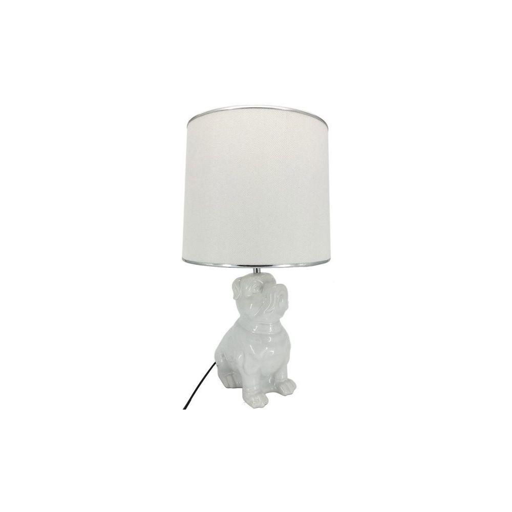 Chloe Design Lampe à poser SHOBA - blanc