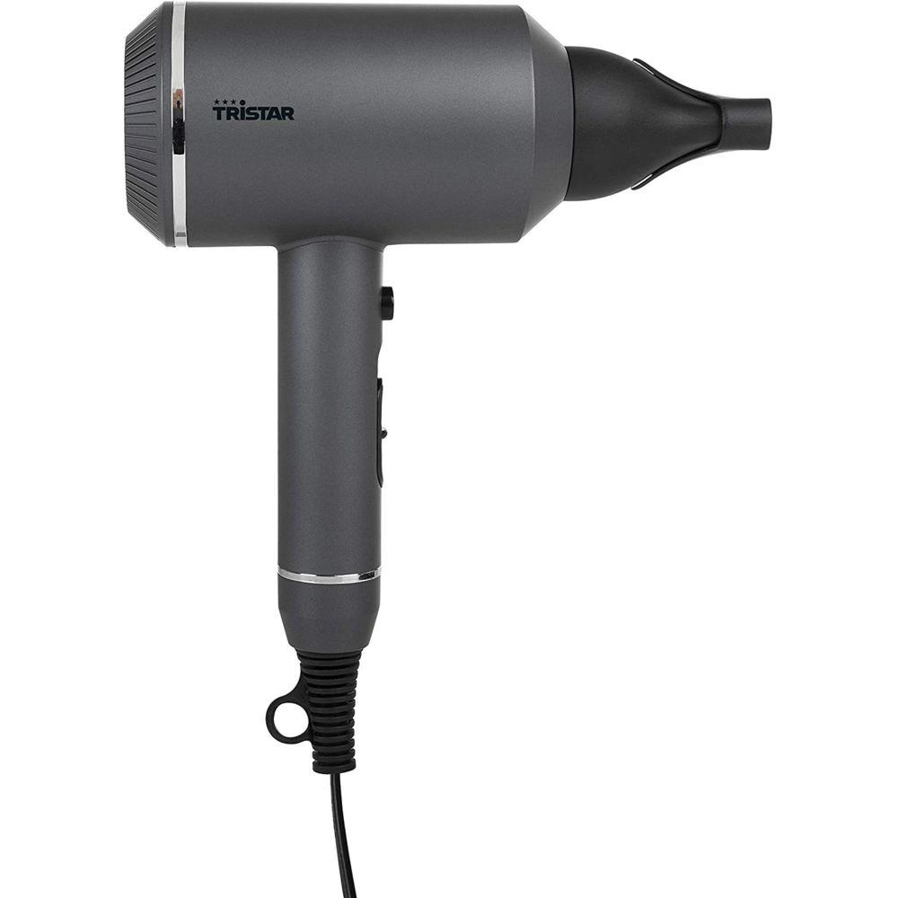 Tristar Sèche Cheveux Turbo Compact 1600W gris noir