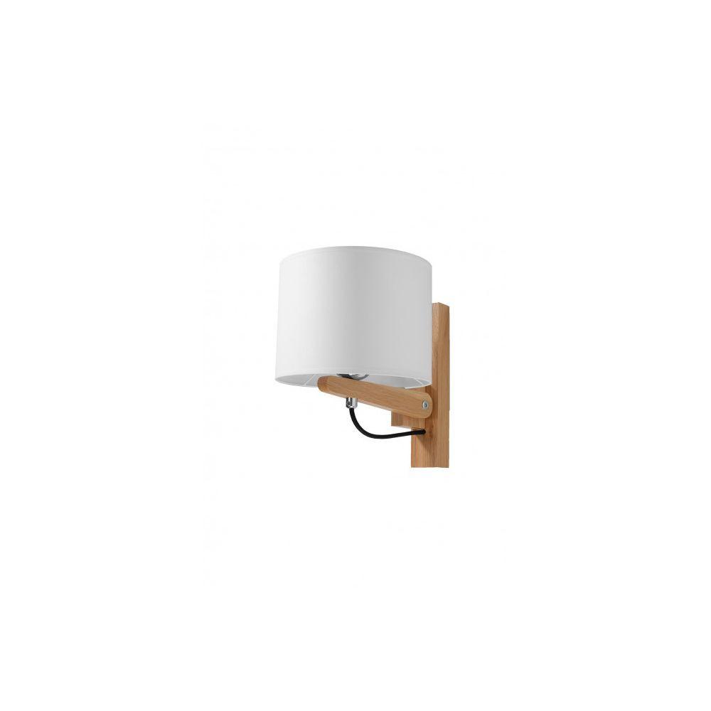 Luminaire Center Applique murale LEGNO bois/PVC bois naturel/blanc 1 ampoule