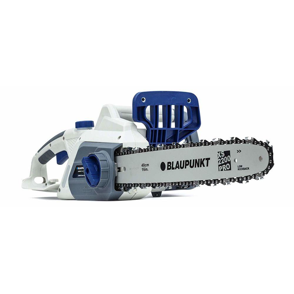 Blaupunkt Blaupunkt Tronçonneuse Électrique CS3000 2200W Lame Blaupunkt XS 40 CM Frein de Chaîne Automatique légère 6 Kg 3 ans gar