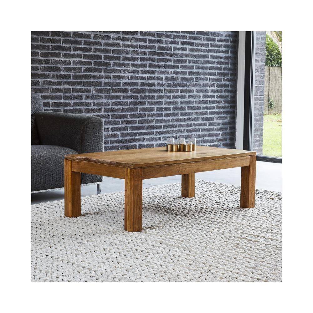 Bois Dessus Bois Dessous Table basse en bois de mindy 110 cm