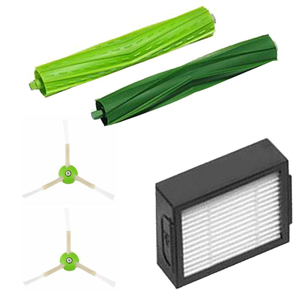 Generic Brosse latérale et filtres Hepa et brosse rotative pour nettoyant iRobot Roomba i7 / i7 + / i7Plus @7edition1