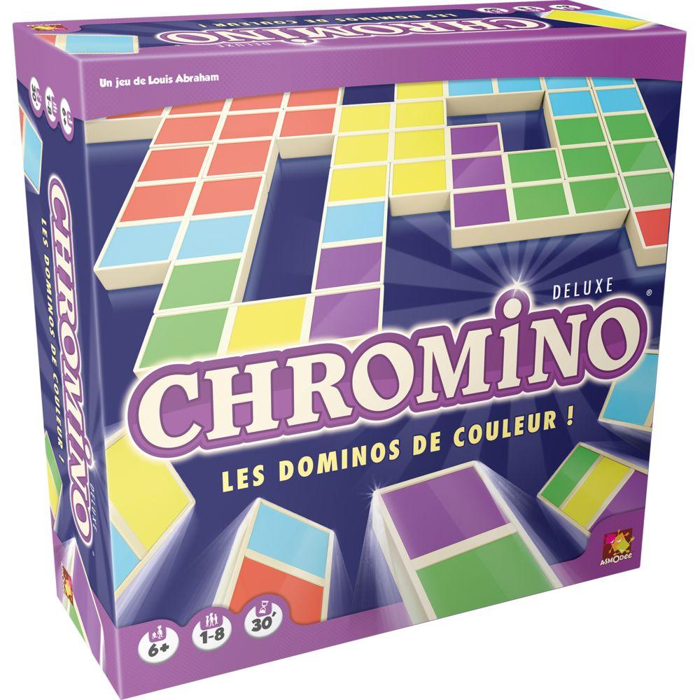 Asmodee Jeu de société - Chromino Deluxe - CHRO05
