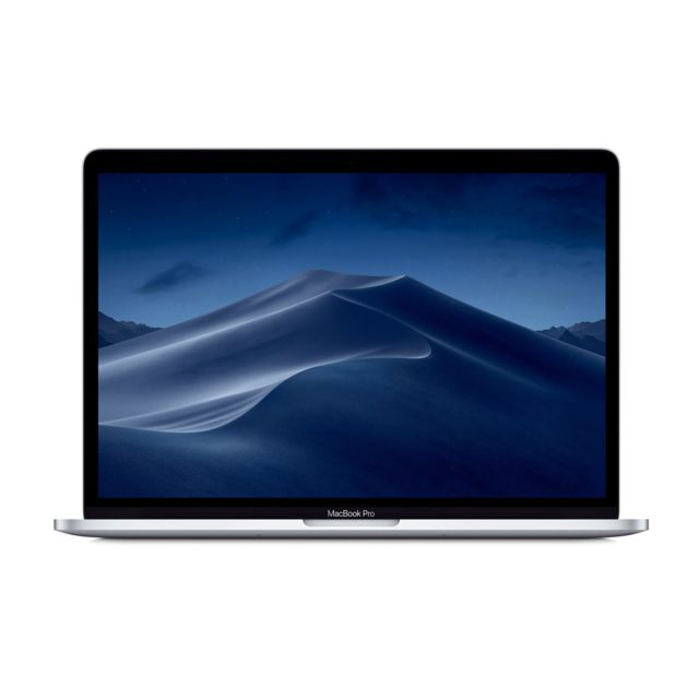 Apple - MacBook Pro 13 Touch Bar 2019 - 256 Go - MV992FN/A - Argent - Ordinateur portable reconditionné