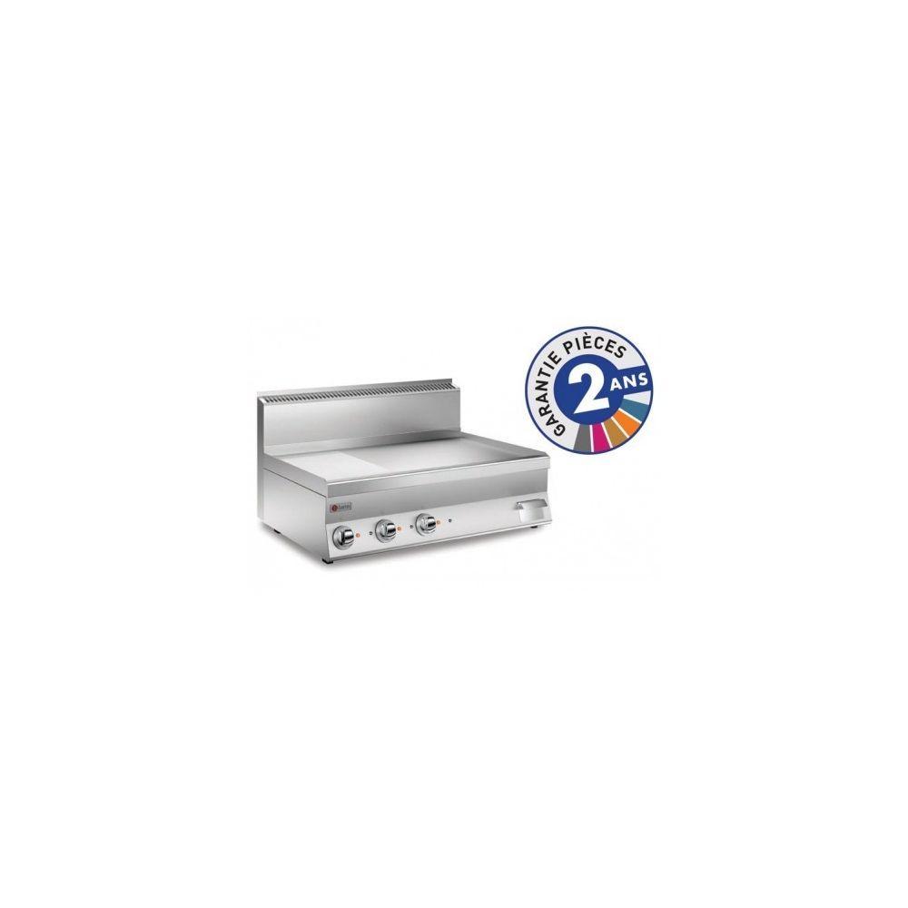 Baron Grillade électrique - Plaque 2/3 lisse 55 dm² - Gamme 650 - Baron - Chromé 650