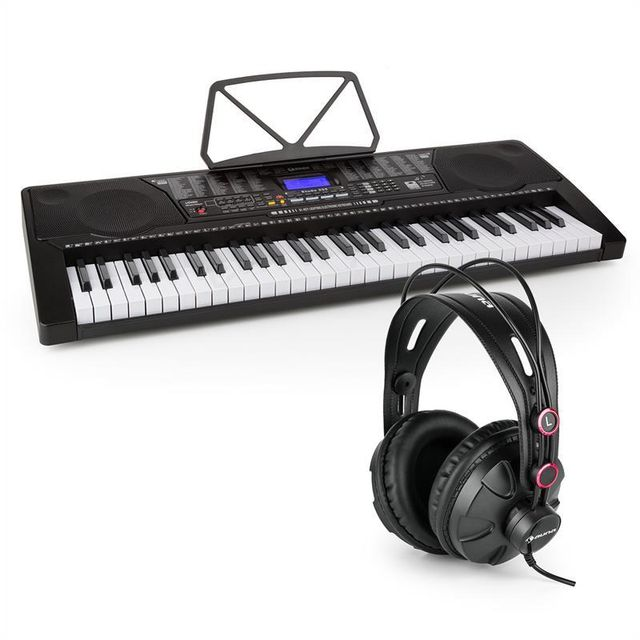 Electronic Star - Schubert Etude 450 USB Synthétiseur d'apprentissage casque 61 touches MIDI LCD Electronic-Star Electronic Star   - Instruments de musique