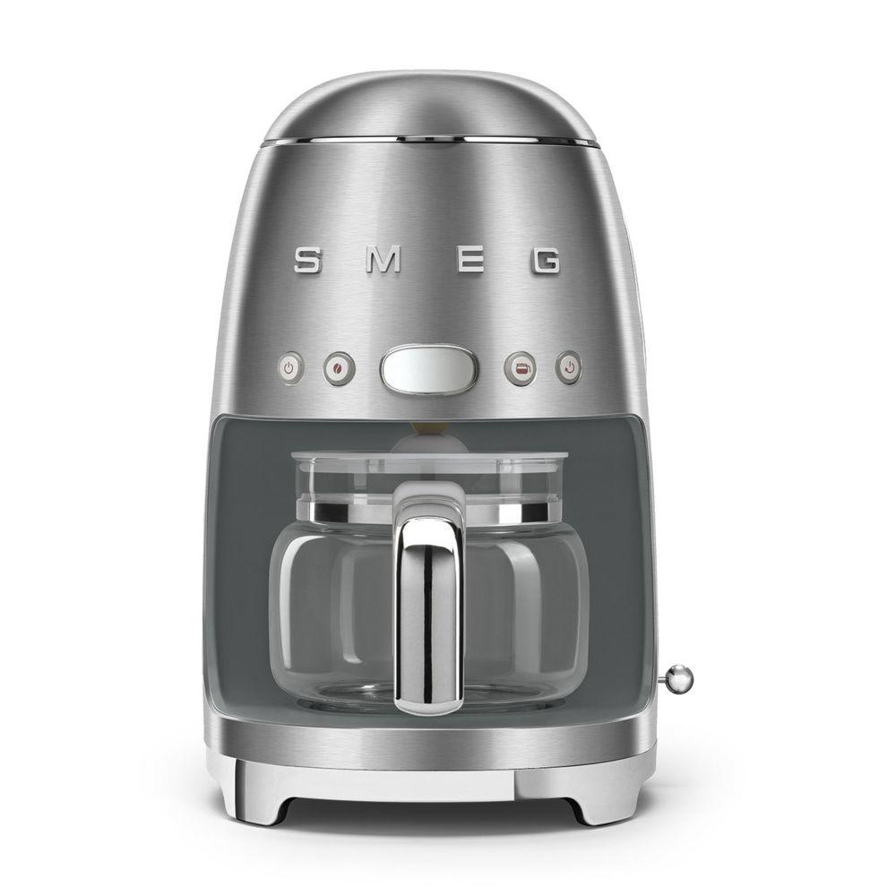 Smeg smeg - cafetière programmable 10 tasses 1050w inox brossé - dcf02sseu