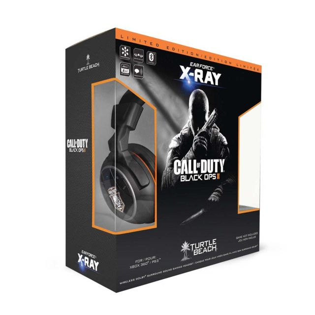 Turtle Beach - Turtle Beach - Ear Force X Ray casque filaire  pour PS3 compatible XBOX 360  Turtle Beach - Turtle Beach