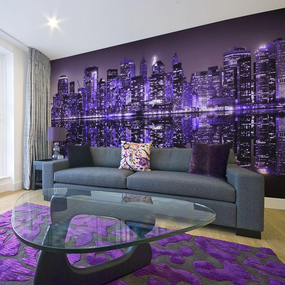 Declina Papier peint XXL - American violet
