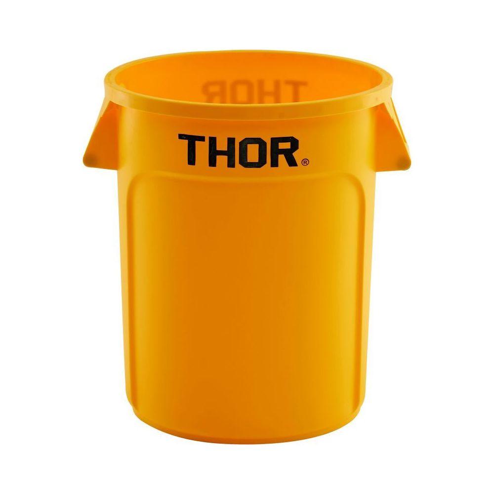 Materiel Chr Pro Poubelle Universelle Thor 75 L - Coloris au choix - Stalgast - 588 mm Jaune Plastique