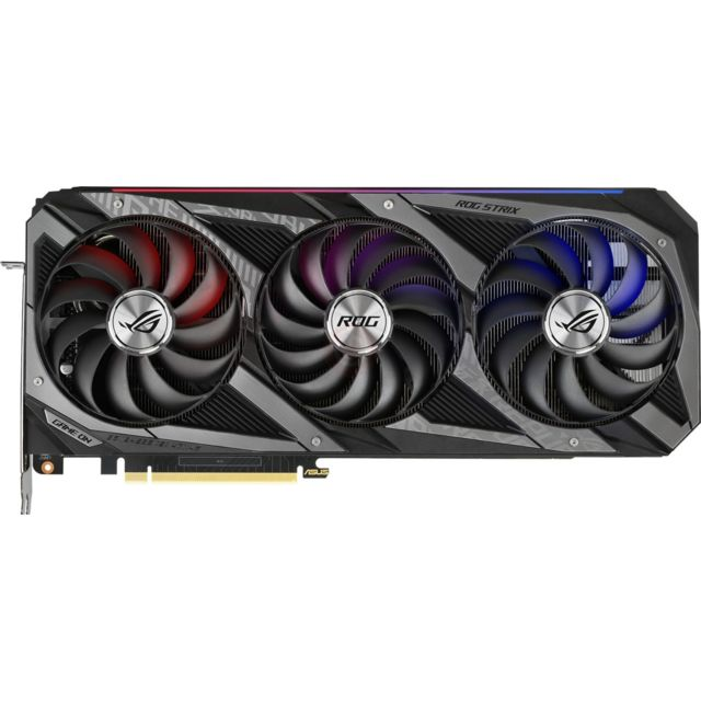 Asus - GeForce RTX 3070 OC - ROG STRIX - Triple Fan - 8Go Asus   - Carte Graphique Rog strix