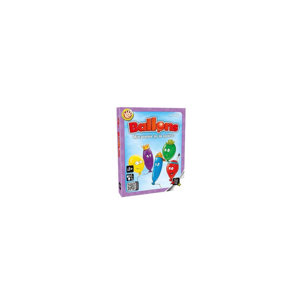 Gigamic Jeux de société - Ballons - Boite Carton
