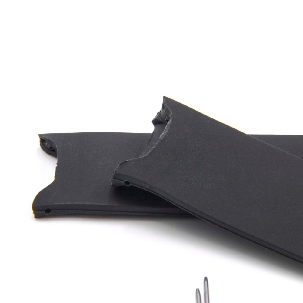 Noir Huabao Bracelet en Silicone pour Garmin Approach S3