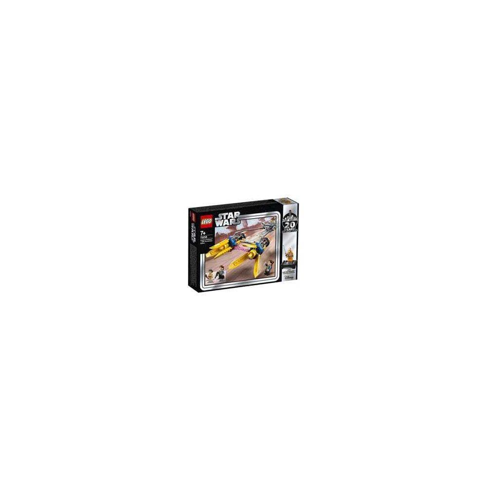 Lego 75258-LEGO® Star Wars Le Prodracer d'Anakin 20 ème anniversaire
