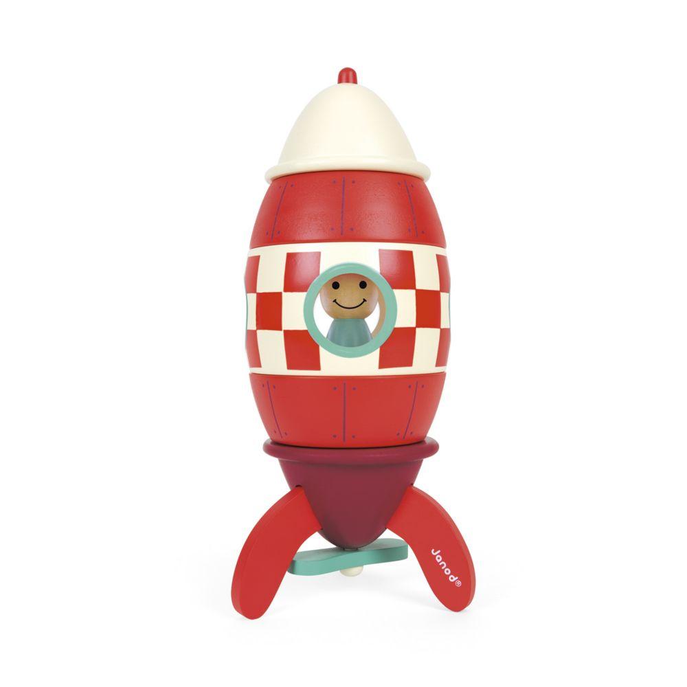 Janod Kit magnet super fusée en bois