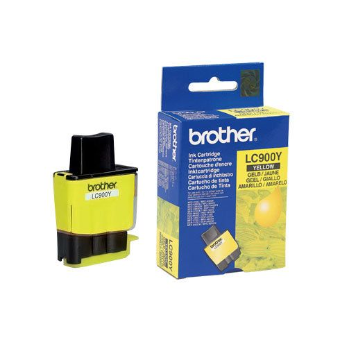 Brother - Cartouche Brother LC900 Jaune - Brother
