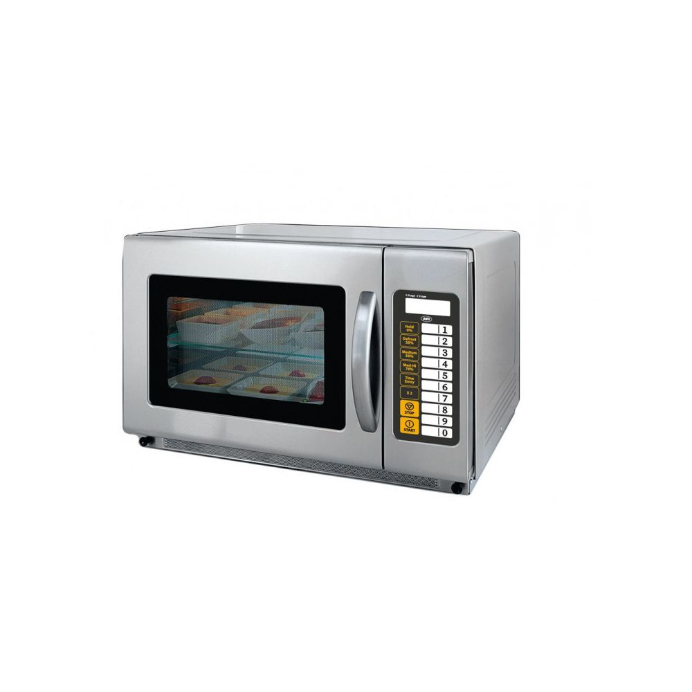 Materiel Chr Pro Four Micro Ondes Professionnel 35 L - 5 niveaux de puissance - AFI Collin Lucy - Inox