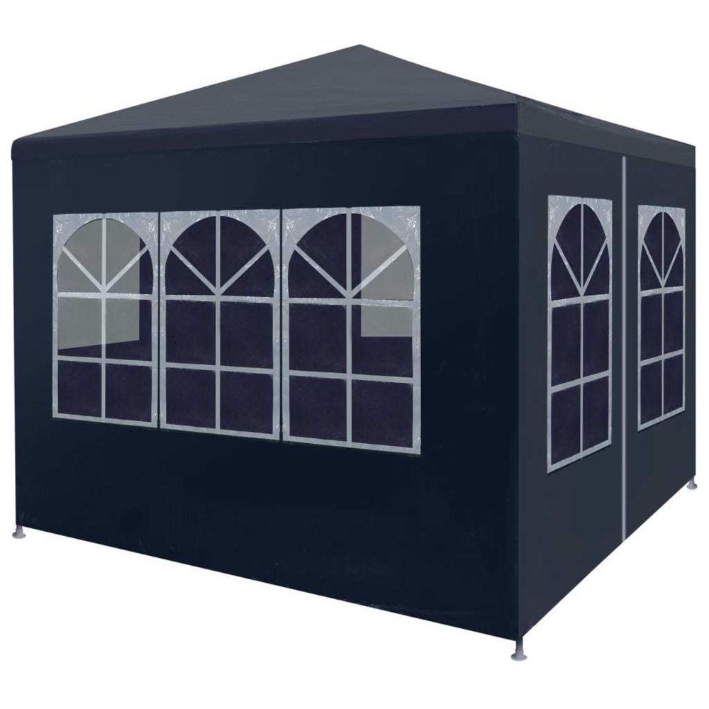 Vidaxl vidaXL Tente de Réception Bleu Tonnelle Chapiteau Pavillon de Jardin Patio