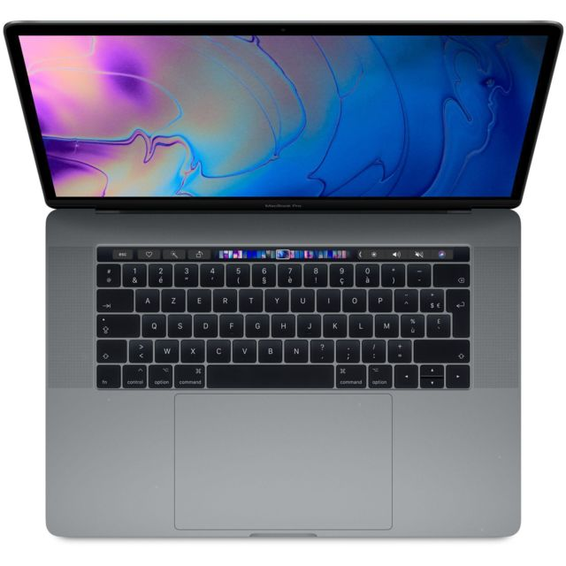 "Apple - MacBook Pro Touch Bar 15"""" Retina (Fin 2016) - Core i7 2,9 GHz  - SSD 1000 Go - 16 Go AZERTY - Français - Ordinateur portable reconditionné"